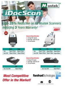 Mustek iDocScan Scanners